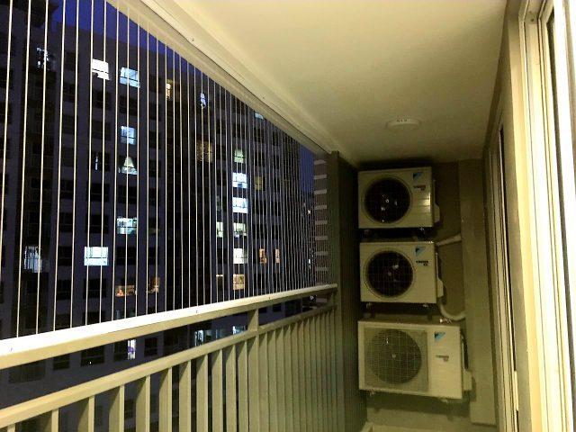 Lưới an toàn ban công đẹp cho chung cư
