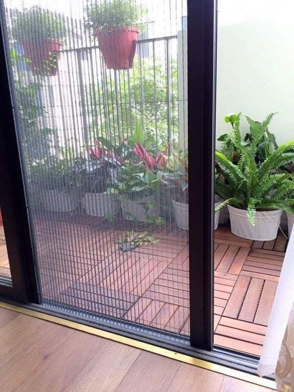 cửa lưới chống muỗi xếp gọn