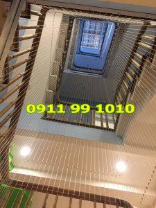 Lưới chắn cầu thang bảo vệ an toàn cho gia đình bạn