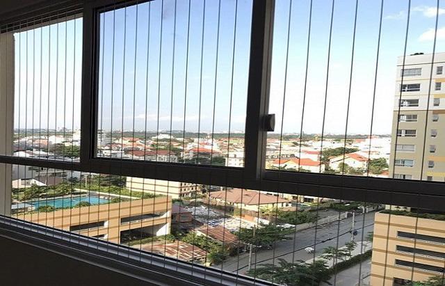 Ứng dụng lưới bảo vệ cửa sổ