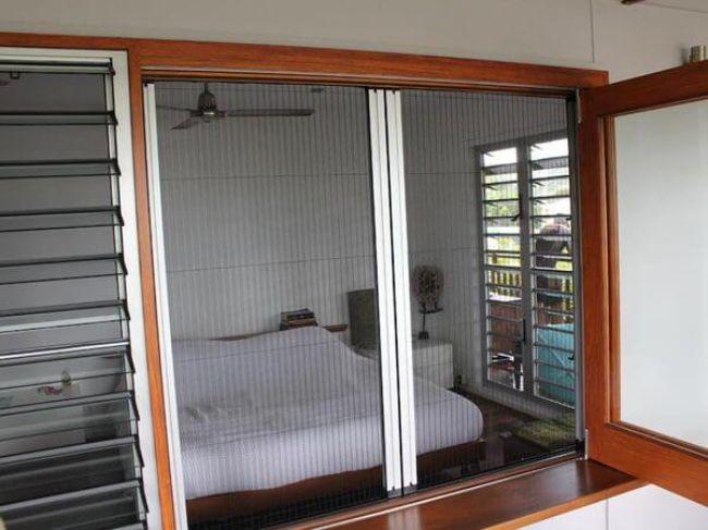 cửa lưới chống muỗi dạng lùa -2