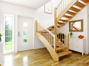 Độ dốc cầu thang hợp lý là bao nhiêu? Cách tính bậc cầu thang