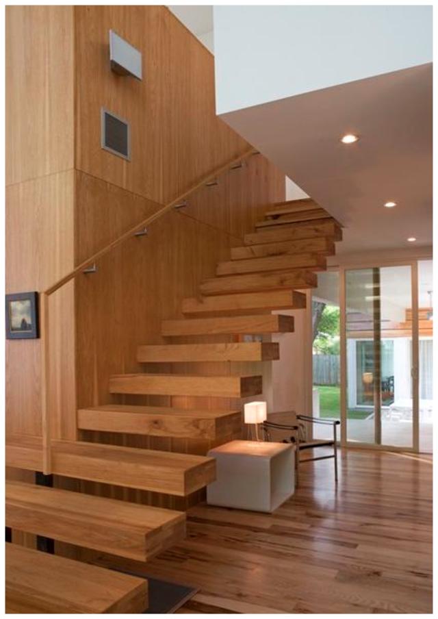 cầu thang gỗ đẹp 1