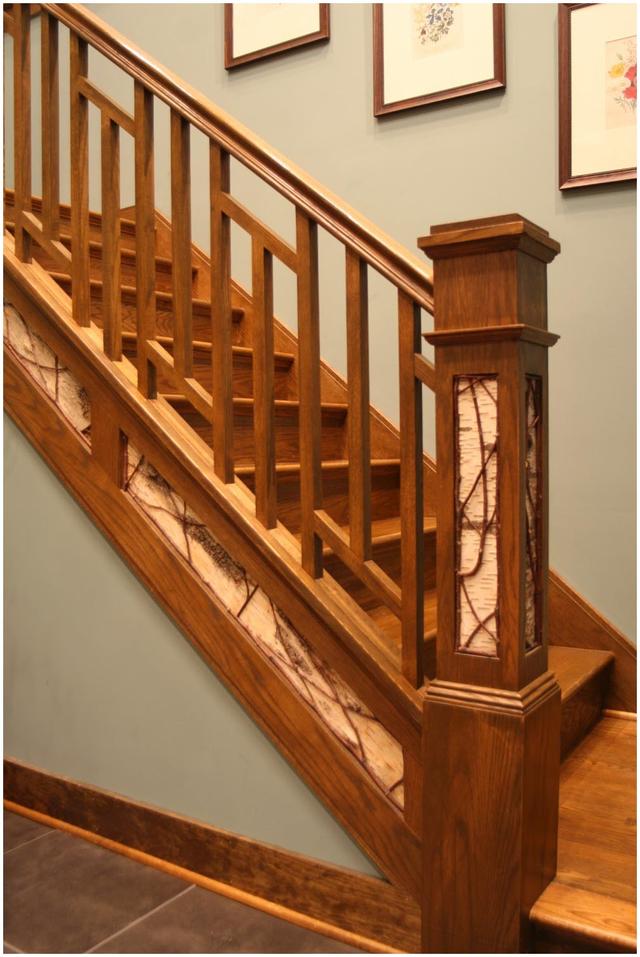 cầu thang gỗ đẹp 5