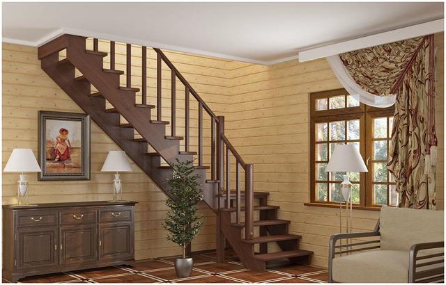 cầu thang gỗ đẹp 8