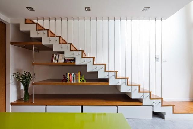 Cầu thang thiết kế thẳng