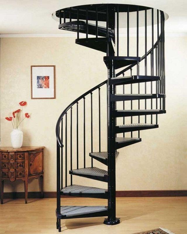 Cách chia bậc thang xoắn